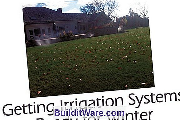Winterizing Home Irrigation