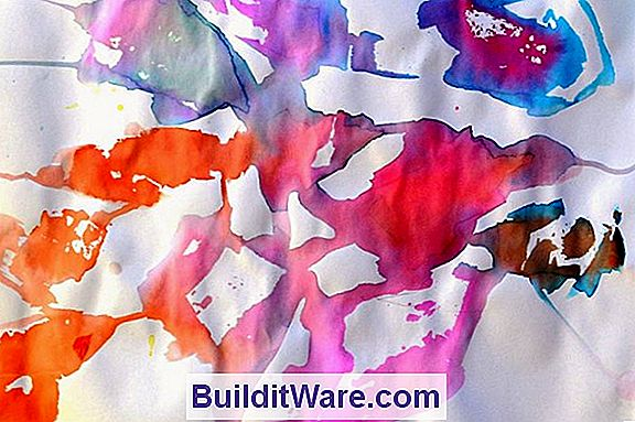 Tissue Paper Paint Effects
