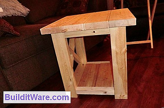 Simple Rennie Mackintosh End Table Plans
